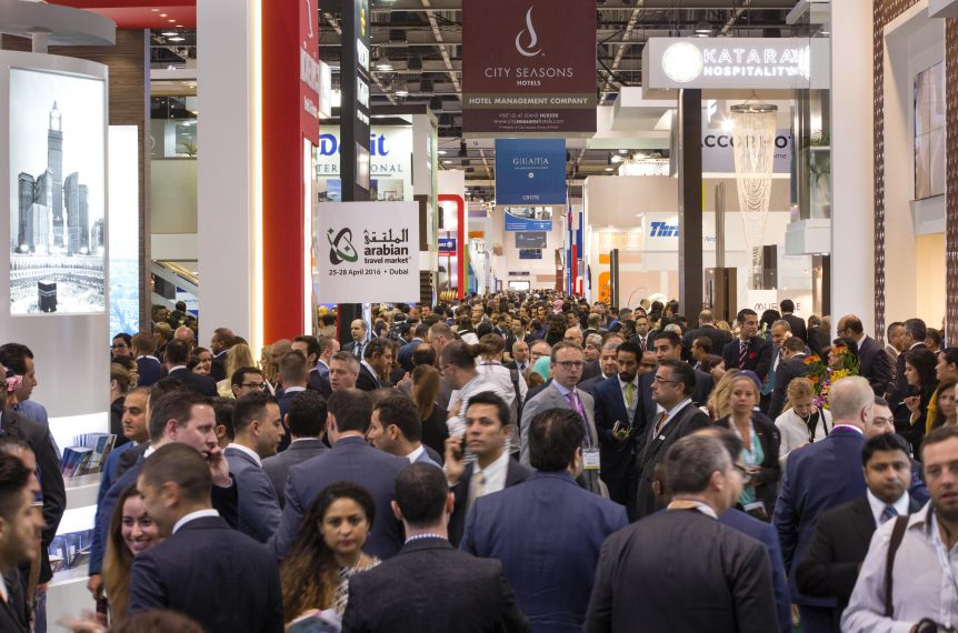 The first day of Arabian Travel Market 2016, Dubai